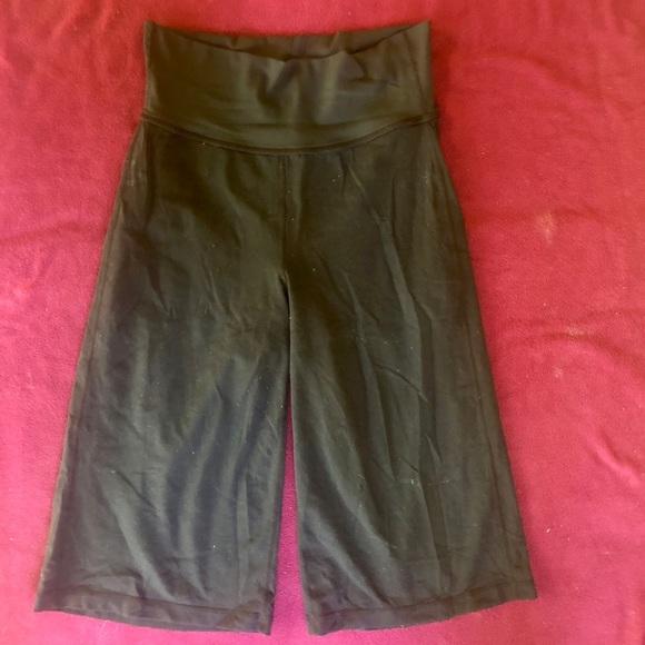 lululemon athletica Pants - Lululemon black wide leg pants